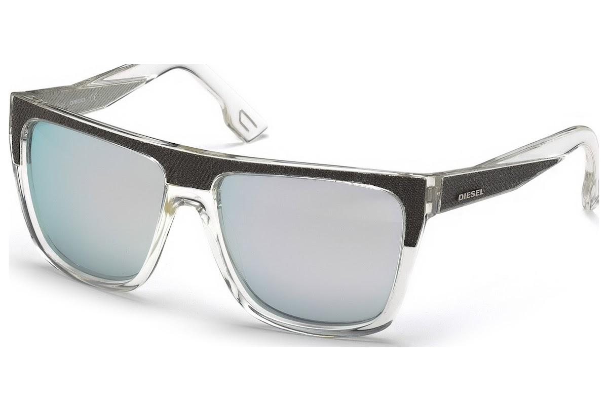Comprar Gafas de sol Diesel DL0099 26C (crystal   smoke mirror)   Blickers 9382d611e8