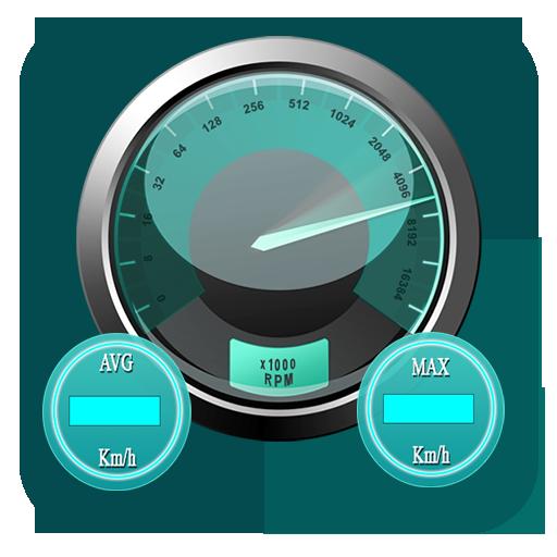 GPS High  Speedometer Test - Digital Speed Meter