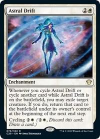Astral Drift, Magic, Commander 2020