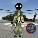 Stickman US Army Stickman Rope Hero counter icon