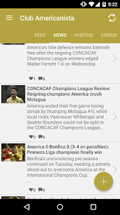 Club Americanista Club América- screenshot thumbnail