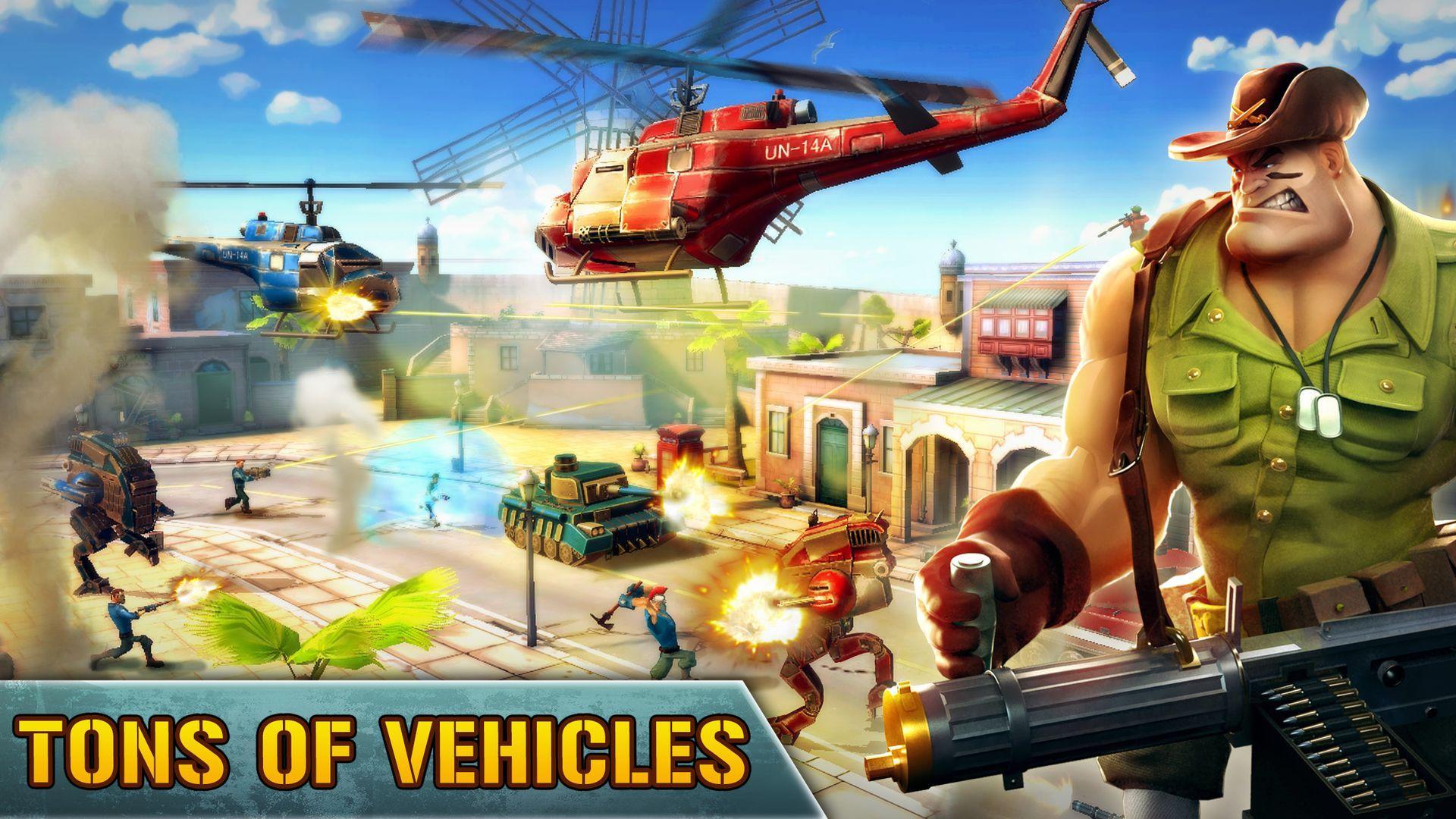 Blitz Brigade - Online FPS fun screenshot #16