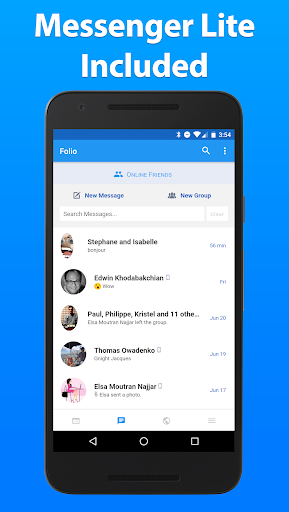 Folio 2 for Facebook & Messenger v2.1.16 [Unlocked]