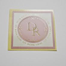 Photo: 和歌山 ポーセラーツ サロン「DUEX RICHE .CO」 様 ロゴ&シールデザイン
