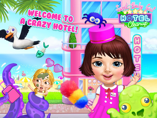 Sweet Baby Girl Hotel Cleanup - Crazy Cleaning Fun 1.0.3 app download 10