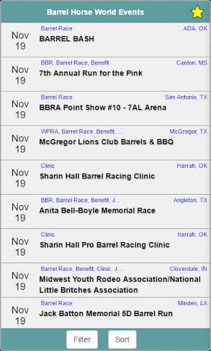 Barrel Horse World Events Screenshot
