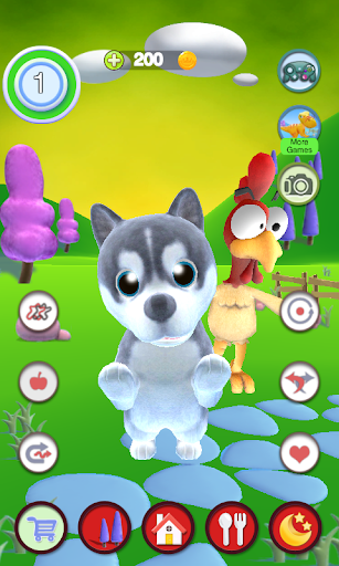 Talking Puppy And Chick  screenshots 1