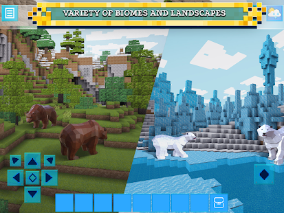 Game RealmCraft with Skins Export to Minecraft APK for Windows Phone