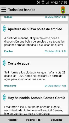 Santibáñez el Bajo Informa
