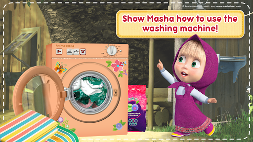 Masha and the Bear: House Cleaning Games for Girls 1.9.12 Cheat screenshots 5