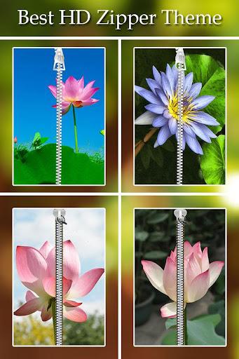 Lotus Zipper Lock