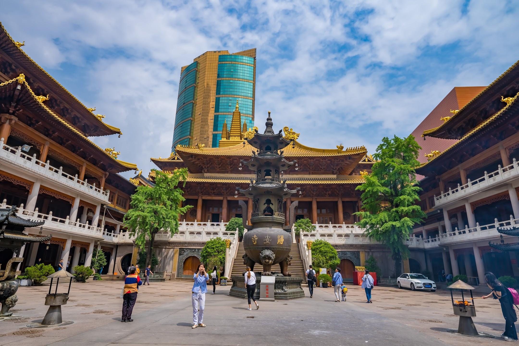上海 静安寺1