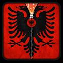 Albania Flag Zipper UnLock icon
