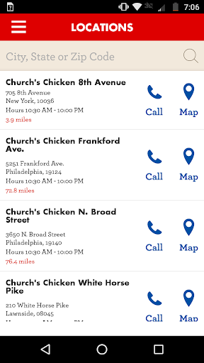 Church's Chicken screenshot
