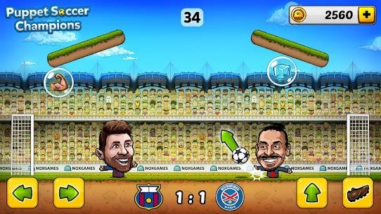 ⚽ Puppet Soccer Champions Mod Apk – League ❤️🏆 3