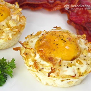Low-Carb Egg & Celeriac Nests Recipe