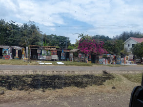 Photo: Arts & crafts store near the camp