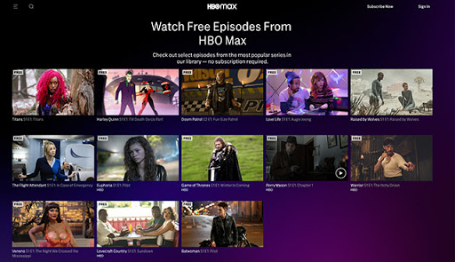 HBO Max Offering Access to Select Free Episodes, In-App on Favorite Device