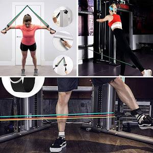 Set 8 piese pentru fitness, LiveUp