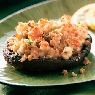 Shrimp-Stuffed Portobello Mushrooms Recipe