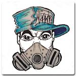 Drawing Graffiti Characters Icon