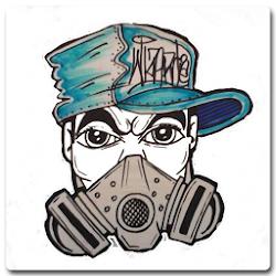 Menggambar Graffiti Karakter