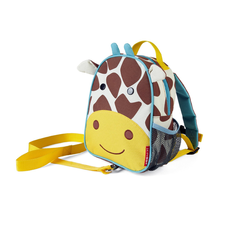Skip Hop Zoo - Let Safety Harness Mini Backpack with Rein - Giraffe by GREEN WHEEL INTERNATIONAL SDN BHD