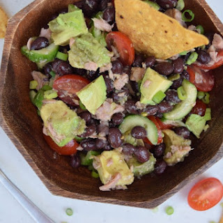 Black Bean Tuna Salad.