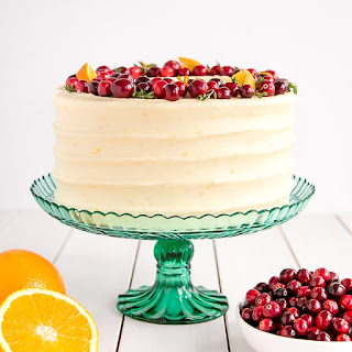 Cranberry Orange Cake.