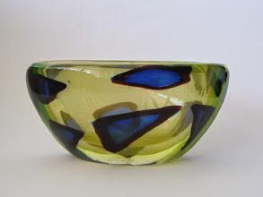Photo: Seguso gold aventurine bowl