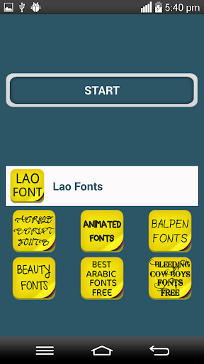 Lao Fonts