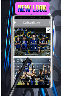 keyboard for inter milano - náhled