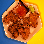 Chicken Wings w/Sweet Chili Dip (4pc)