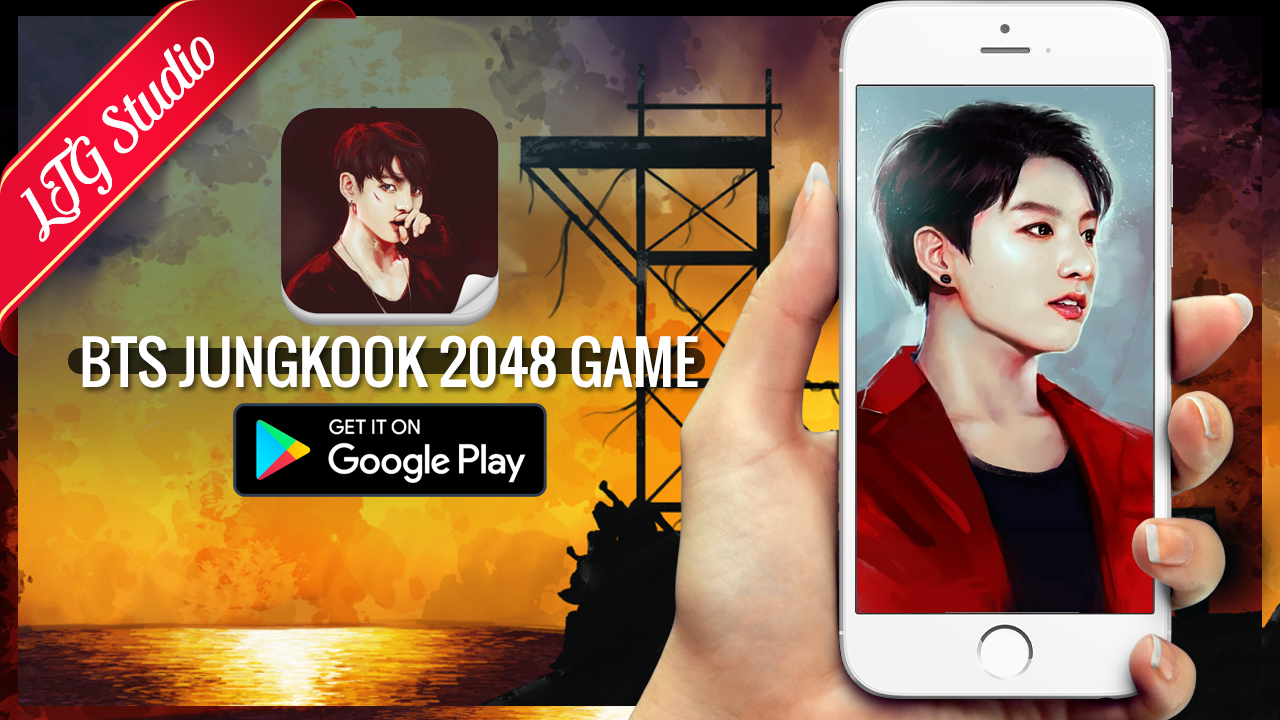 Google themes kpop - 2048 Bts Jungkook Kpop Game Screenshot
