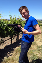 Photo: Filming in wine country