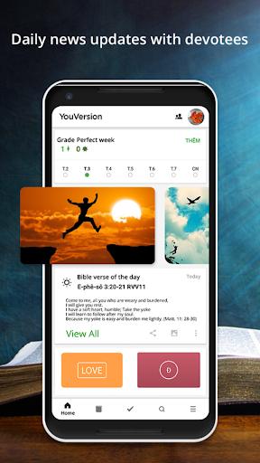 Holy Bible – Offline Bible & Audio Bible App Report on