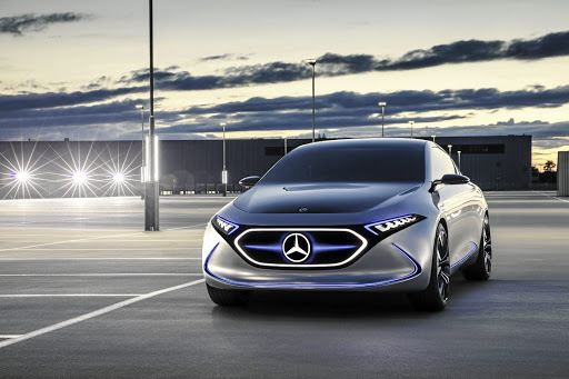 With their long battery ranges and striking hi-tech styling, Merc's EQ cars aim to convert customers to the electric side. Picture: SUPPLIED