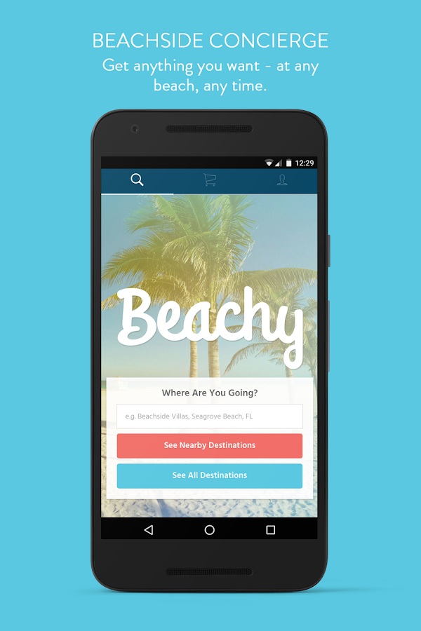 Beachy- screenshot
