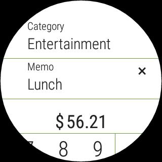 Hello Expense- screenshot