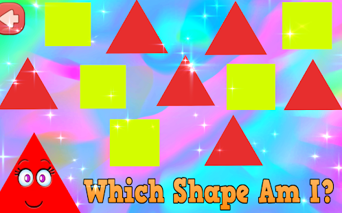 kids smiley shapes learning google play のアプリ