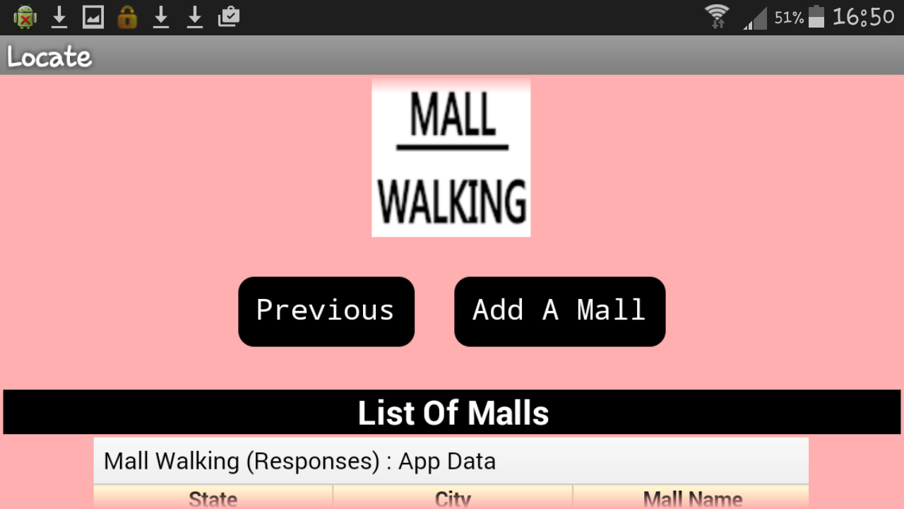 Mall Walking- screenshot