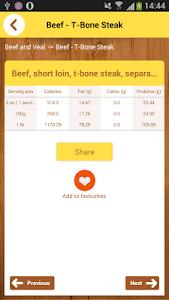 Calorie Chart screenshot 4