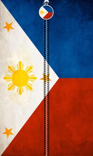 Philippines Flag Zipper UnLock