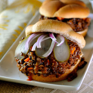 Quinoa & Lentil Sloppy Joes
