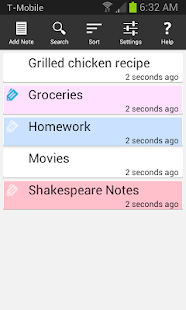 Ultimate Notepad- screenshot thumbnail