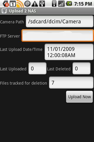 Upload 2 NAS Lite 1.6.4 screenshots 1