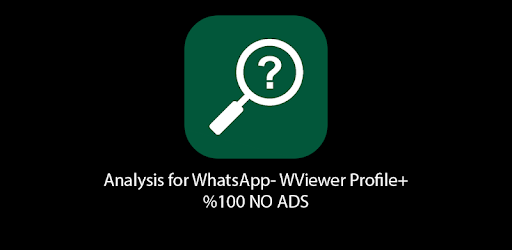 Analysis for WhatsApp - WViewer Profile+ for PC