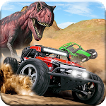 Dino World Car Racing Icon