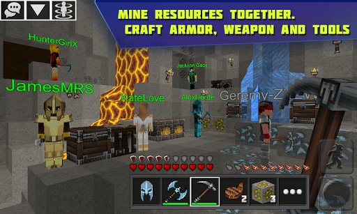 Planet of Cubes Survival Craft screenshot 3