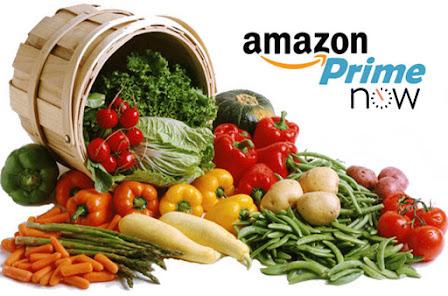 Amazon: Frutta e Verdura si comprano online